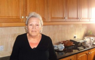 Our very best family homestay hosts Sandra Georgiou